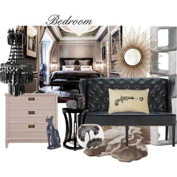 A black chandelier like that in my bed room... mmmh... like it...