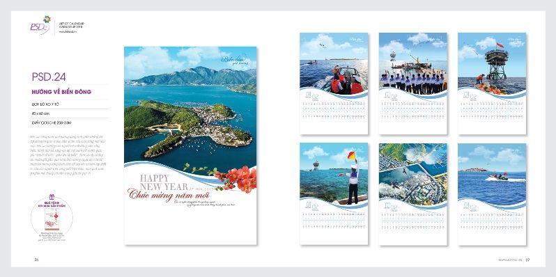 In công nghệ nhận in ấn, thiết kế mẫu lịch lò xo 7 tờ đẹp, nhanh, giá rẻ nhất tại Hà Nội và nhiều ấn phẩm lịch khác.