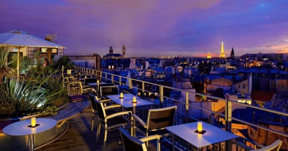 Top 40+ bars rooftop de Paris, pour boire un verre sur un