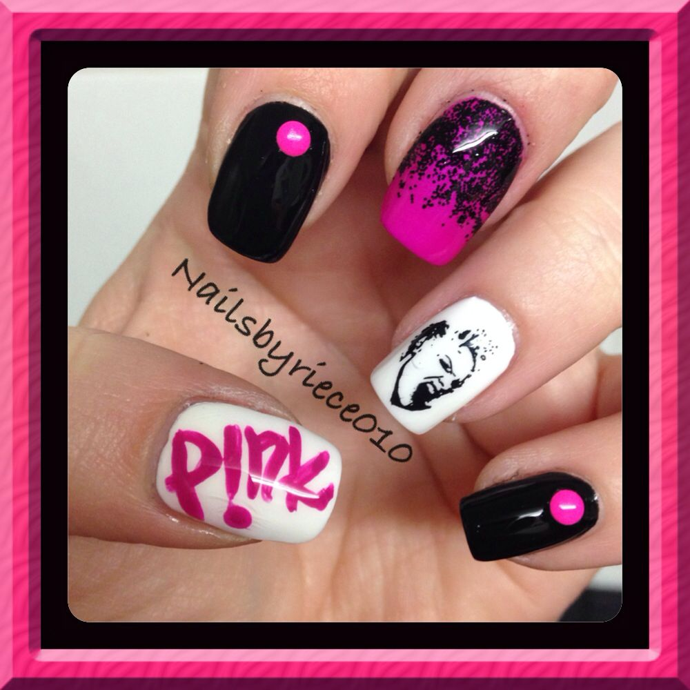 Pin by Riece Potter on Music inspired Nail Art | Pinterest