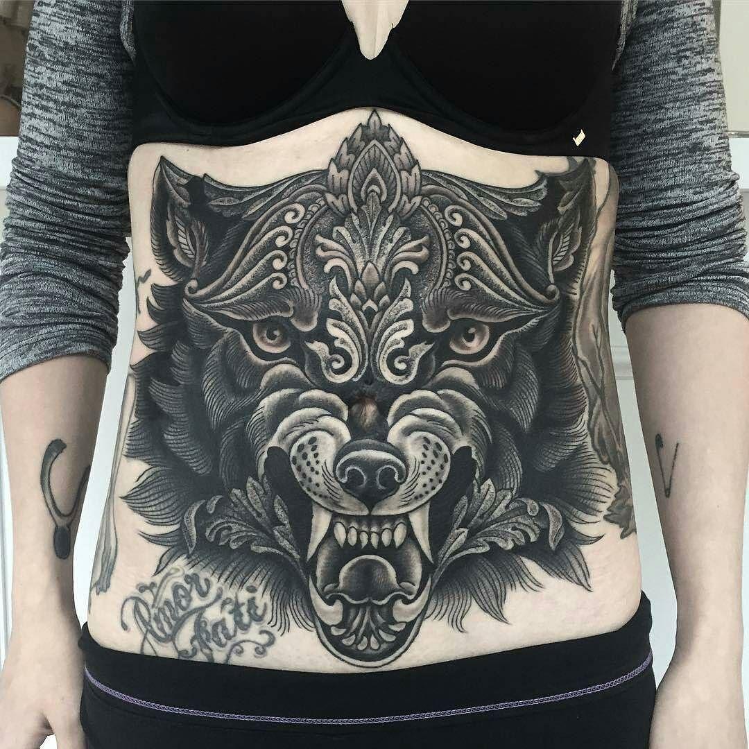 Wolf Tattoo By Snelgrove At Theokeydokey In Toronto Ontario Snelgrove Alexsnelgrove Theokeydokey Toronto Onta Tattoos Body Art Tattoos Tattoos For Women