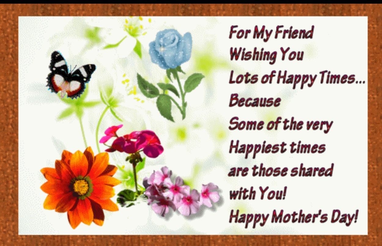 Pin By Karen Scott On Greetings Happy Mothers Day Sister Happy Mother Day Quotes Happy Mothers Day Wishes