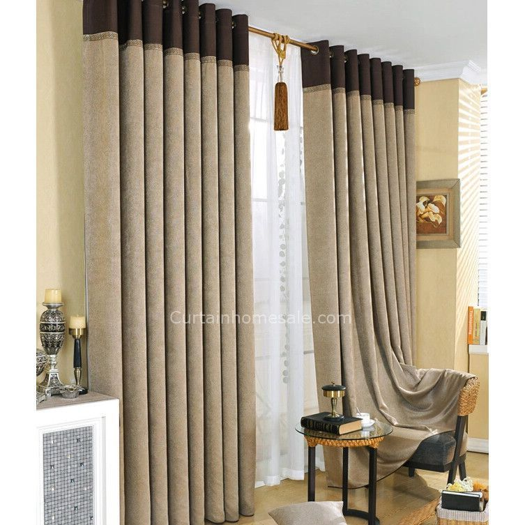 Casual Gray Polyester Thick Thermal Blackout Curtain For Men Bedroom Westerndecordiy Mens Bedroom Bedroom Design Diy Bedroom Design