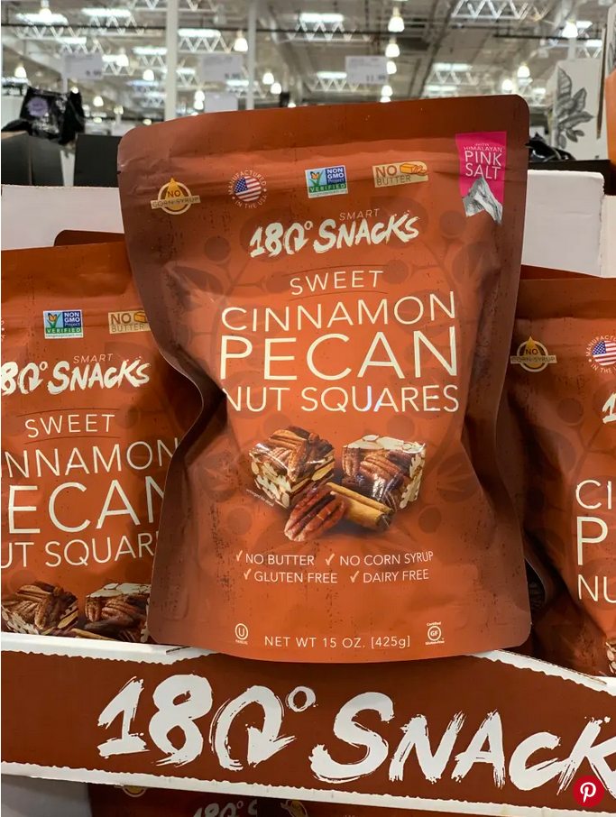 These little bites from 180 Snacks only have five