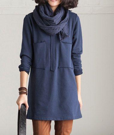 4colors Loose sweat shirt/Plus size long sleeve blouse/softfashion18 on Etsy, $48.00