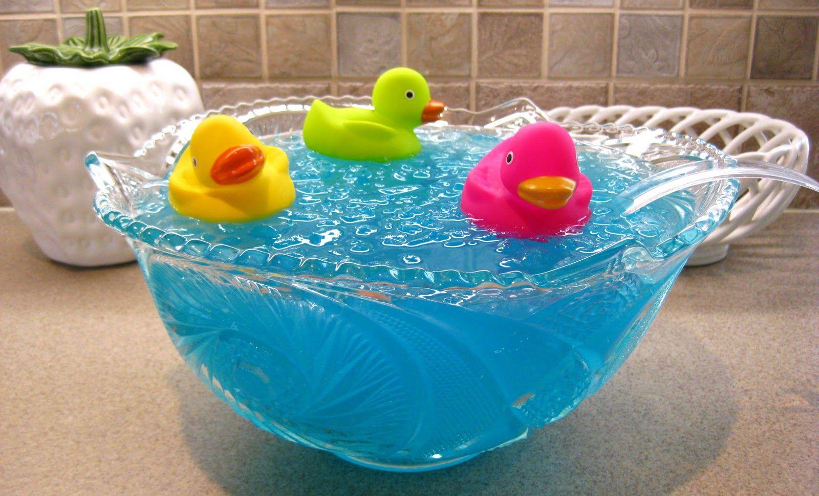 Ducky Bath Baby Shower Punch ducky bath baby shower punch | recipe | rubber ducky punch, babies