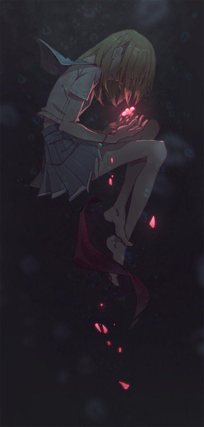 Die on anime manga and drawings - Dark anime girl pics ...