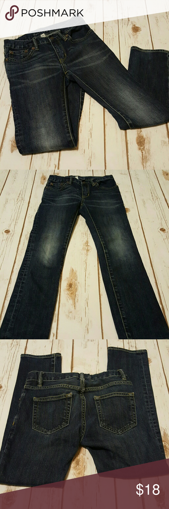 Gap kids 1969 skinny denim Gap kids skinny jeans with the faded distressed look. Excellent Pre-loved condition. GAP Bottoms Jeans