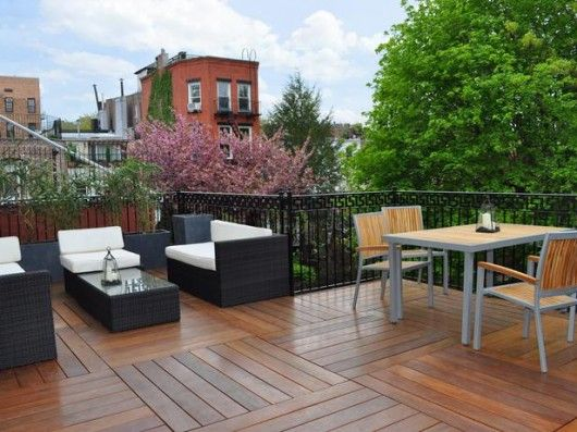 decorative rooftop wood decks design ideas beauty