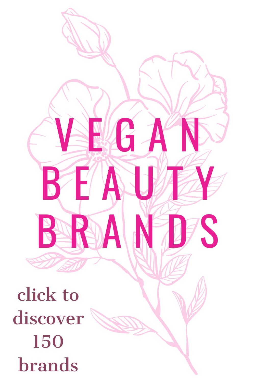 Vegan Beauty Brands in 2020 Vegan beauty brands, Vegan