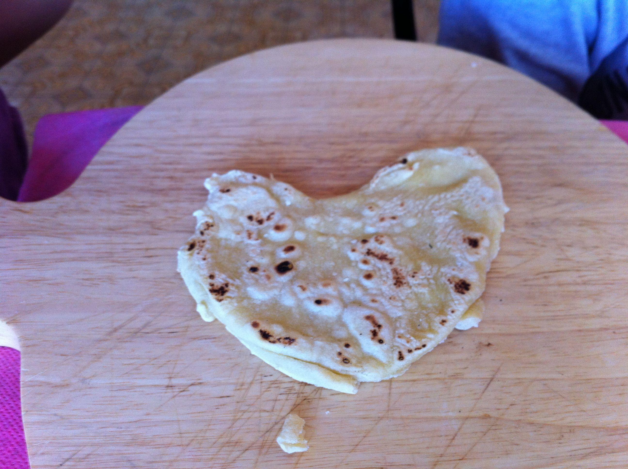 Il nostro cuore romagnolo nel più classico dei nostri piatti, la piadina.