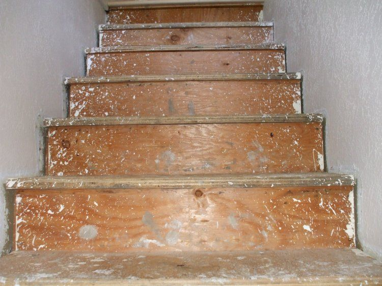 Best Replacing Carpeted Stairs With Wood Treads Wood Stairs 400 x 300
