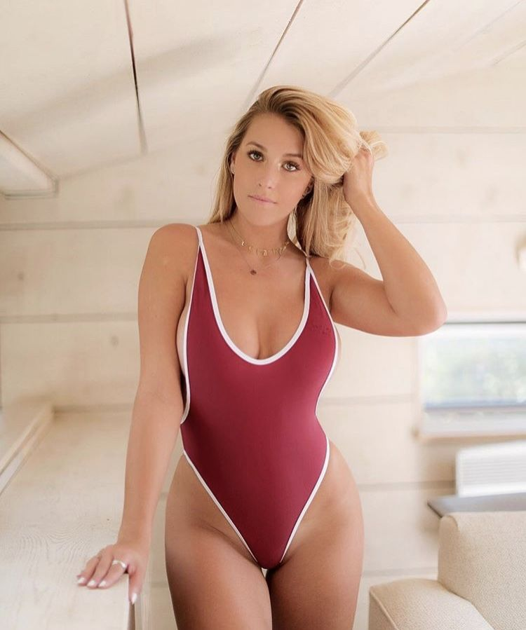 af67d825b13 Babe wearing the subarctic retro one-piece ✖ shop now at: www.BOUTINELA.com  #boutinela #chooksla #boutinelababe