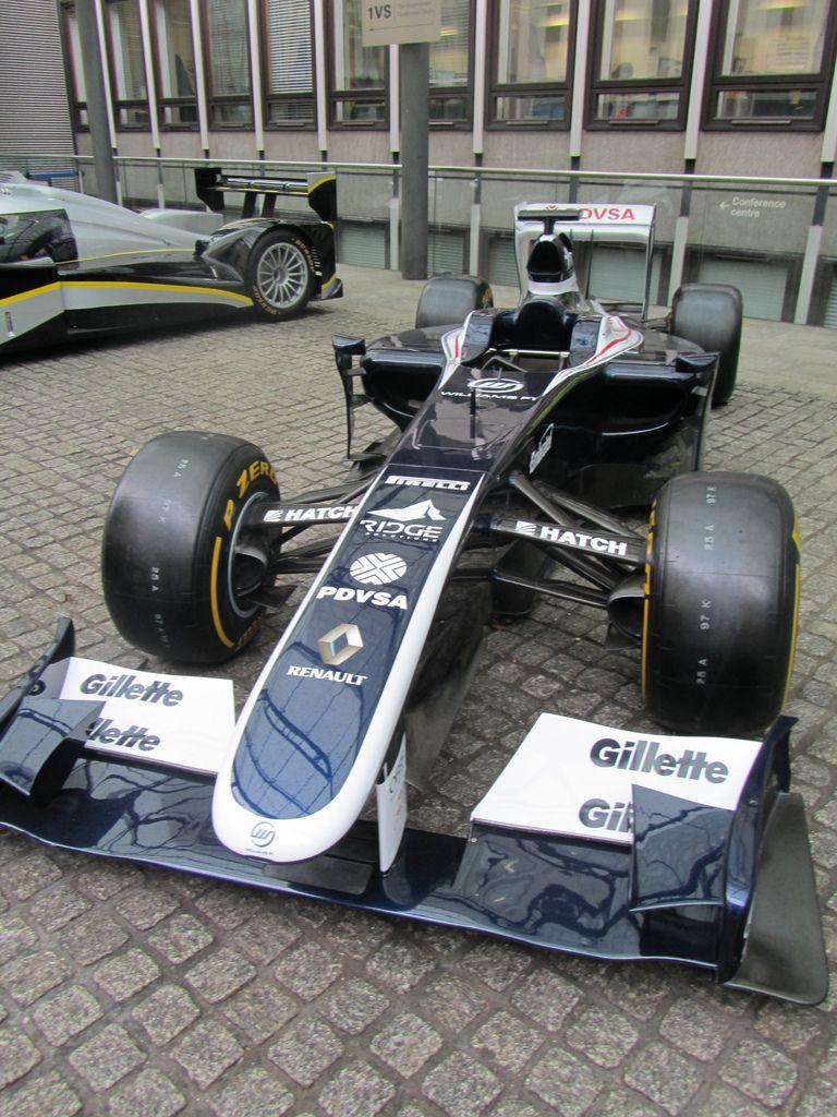 Uk London Williams F1 Car Car Williams F1 London Uk