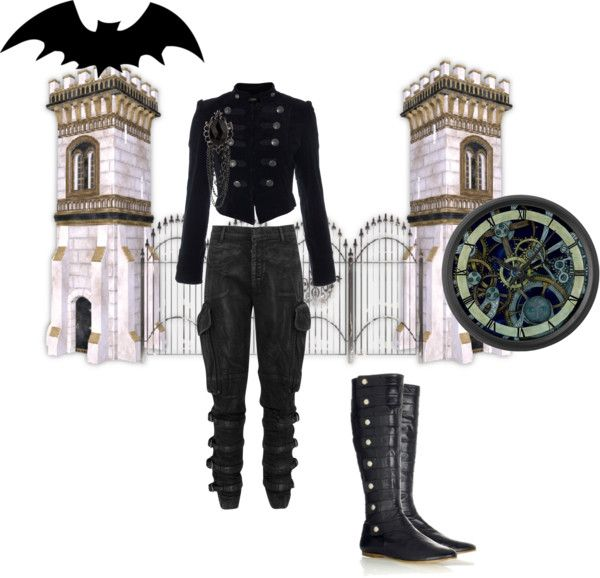 """""""Adrian:BUTTONS"""" by twisted-doll ❤ liked on Polyvore"""