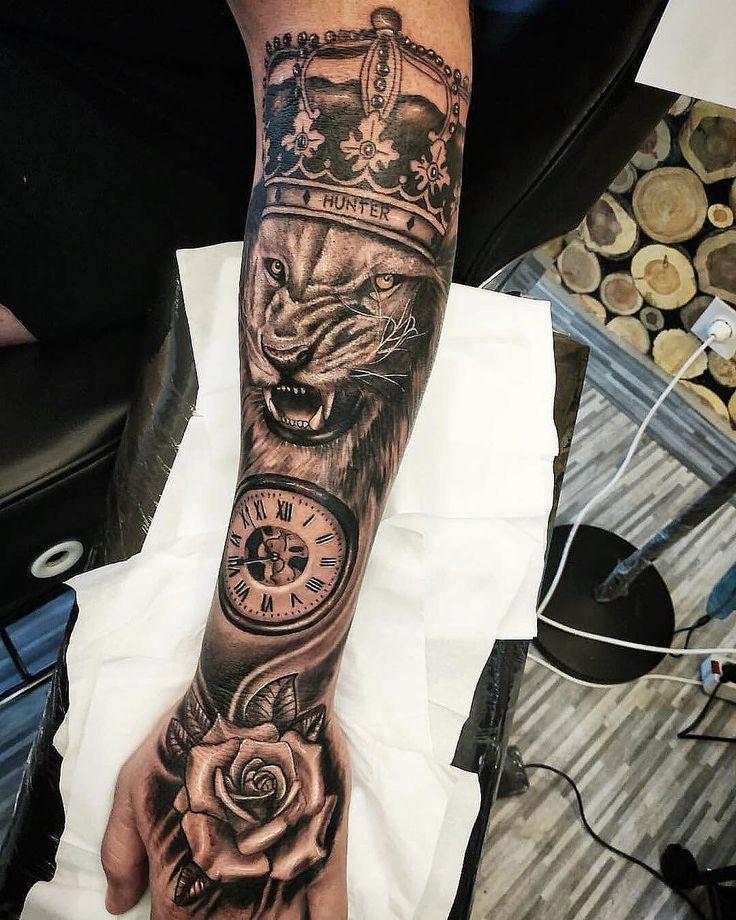 Antebrazo Tatuajes A Color