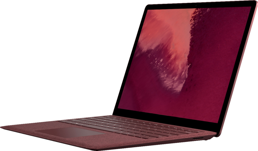 Microsoft Surface Laptop 2 13 5 Touch Screen Intel Core I5 8gb Memory 256gb Solid State Drive Burgundy Surface Laptop Microsoft Surface Laptop Microsoft Surface