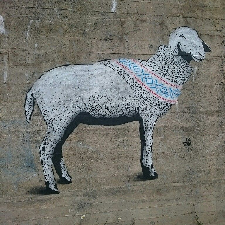Streetart, Voss, Norway.