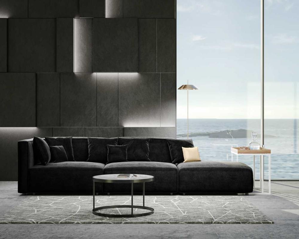 Arya Modular Sofa With Open End In 2020 Modular Sofa Deep Seating Sofa