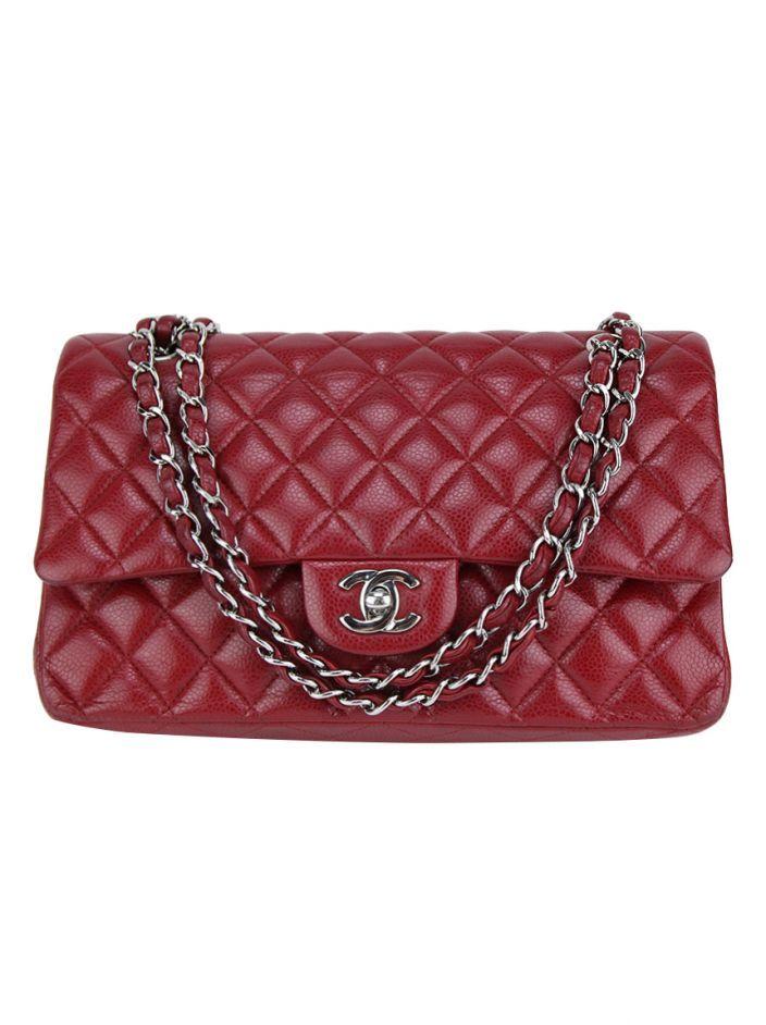 fed621bc2 Bolsa Chanel Double Flap Vinho Original. O modelo confeccionado em couro  matelassê vinho possui formato