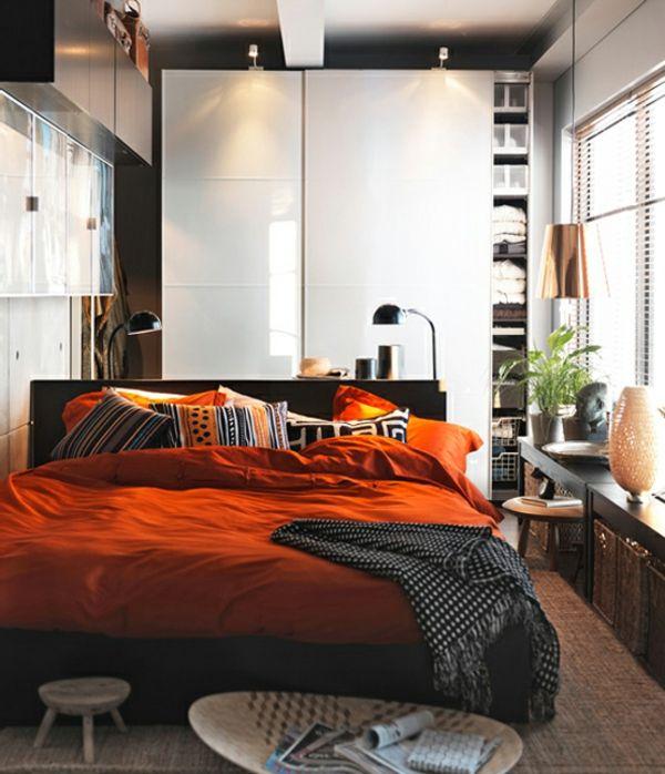 Schlafzimmer gemütlich modern  Einrichtungsideen fürs Schlafzimmer - modern, elegant und gemütlich ...