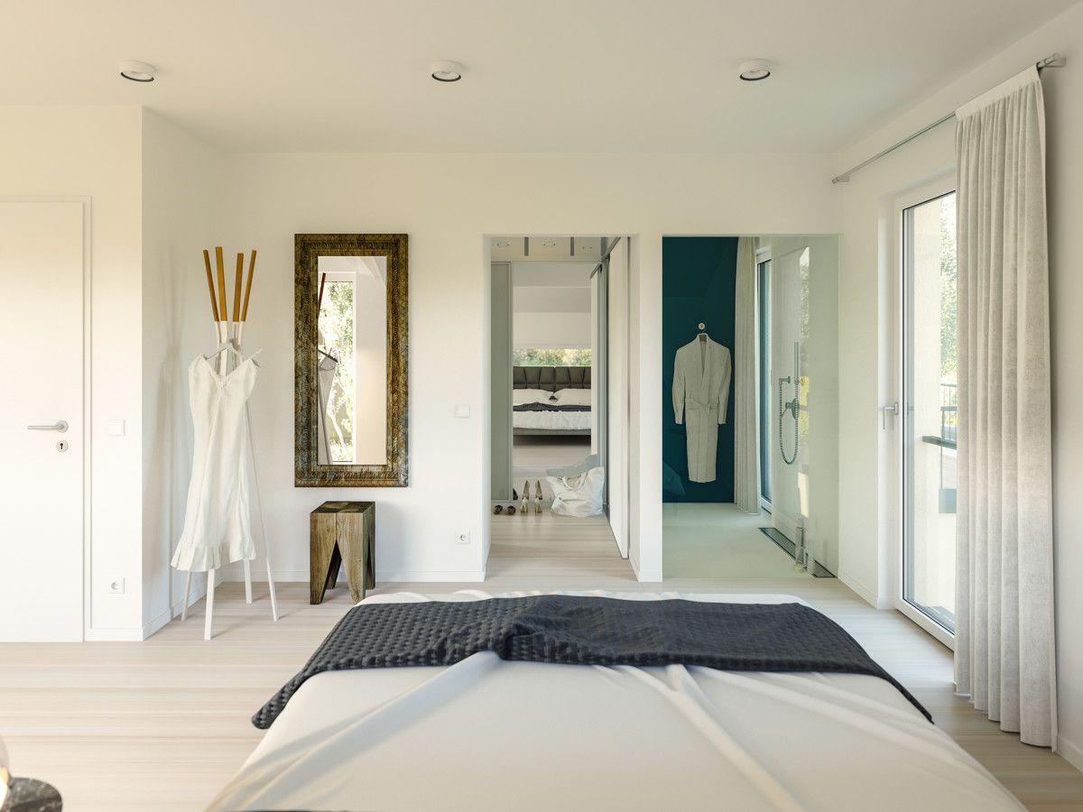 Hauseinrichtung modern Schlafzimmer mit Dusche - Haus Ideen Concept ...
