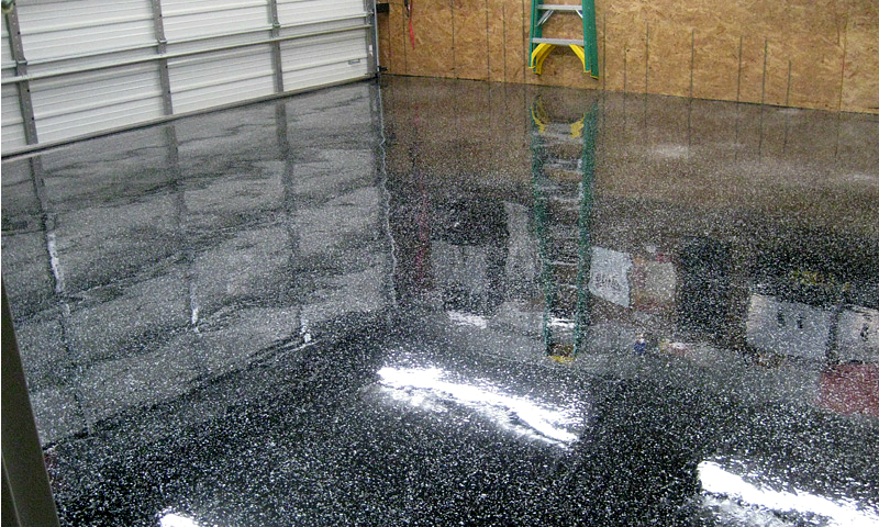 Garage Floor Pictures Gallery Epoxy Garage Ideas And