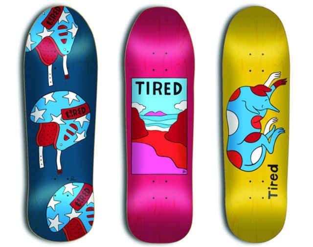 Tired Skateboards New Skateboard Company By Parra Freshness Mag Skateboard Companies Skateboard Skateboard Design