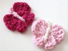 Photo of Schmetterling_Haekelanleitung_ for absolute crochet beginners – …