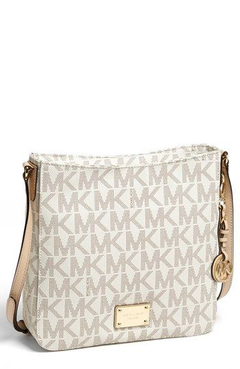 2b88e124a76d Already know what I'll be splurging on in the near future: MICHAEL Michael  Kors 'Jet Set Signature - Large' Messenger Bag available at #Nordstrom