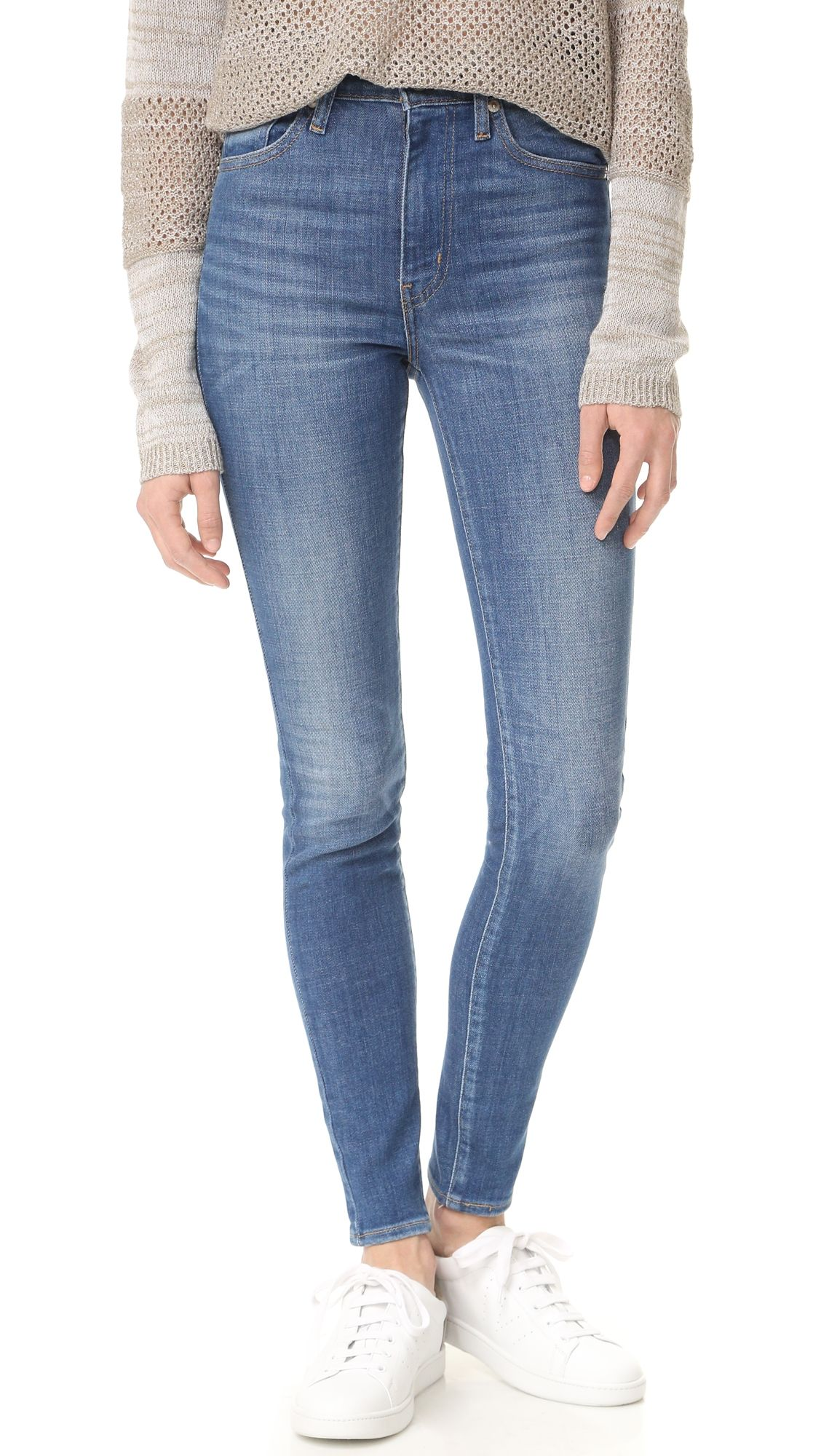 d8a564bbfa4 Levi s Mile High Super Skinny Jeans