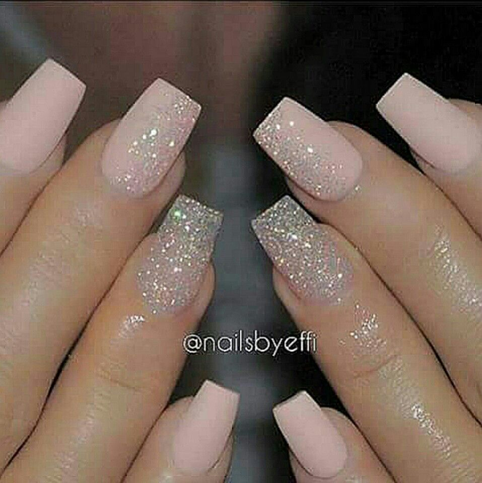 Faded Pink Nails | Nail File | Pinterest | Pink nails, Manicure and ...