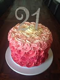 Imagen Relacionada With Images 21st Birthday Cakes 22nd