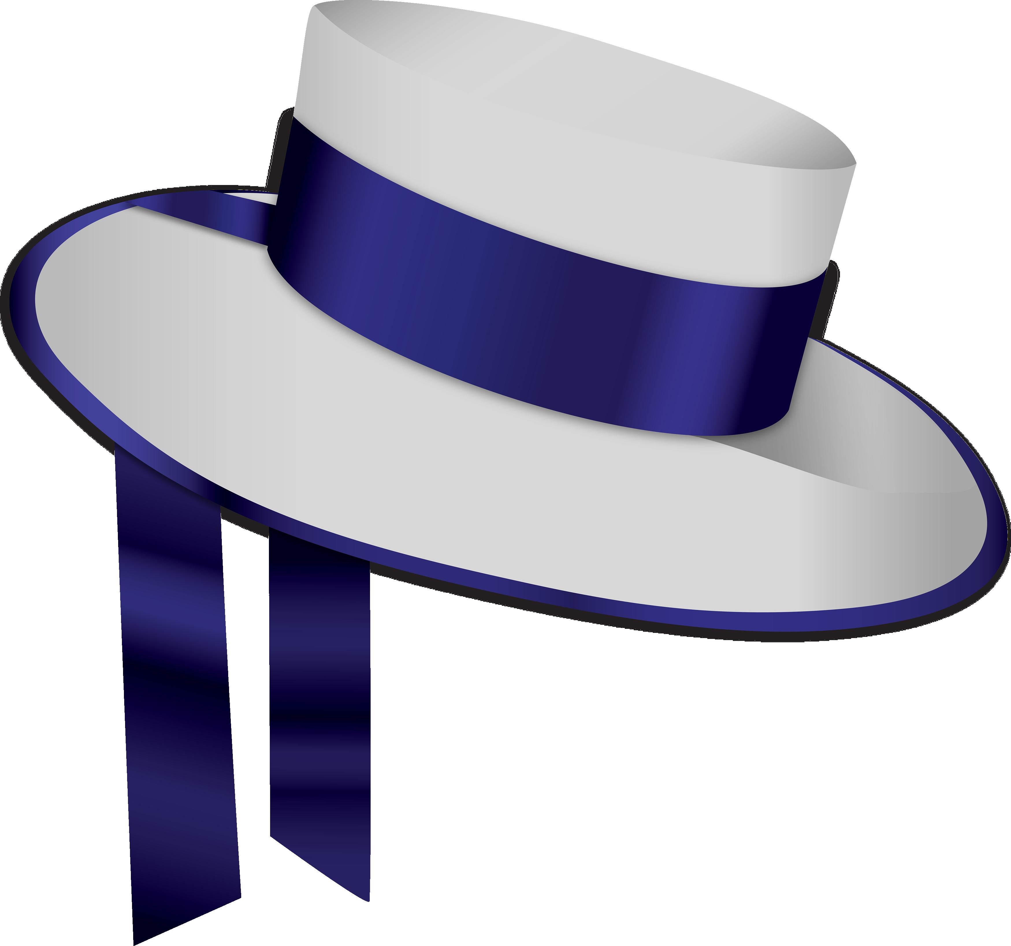Blue White Hat Png Image Hats Clip Art Png