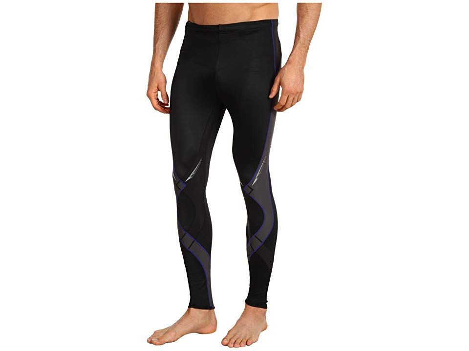 CWX Stabilyxtm Tight BlackGreyBlue Mens Workout You cant perform at your peak without a stable foundation Slip into the Stabilyx Tight and youre ready to excel The Suppor...