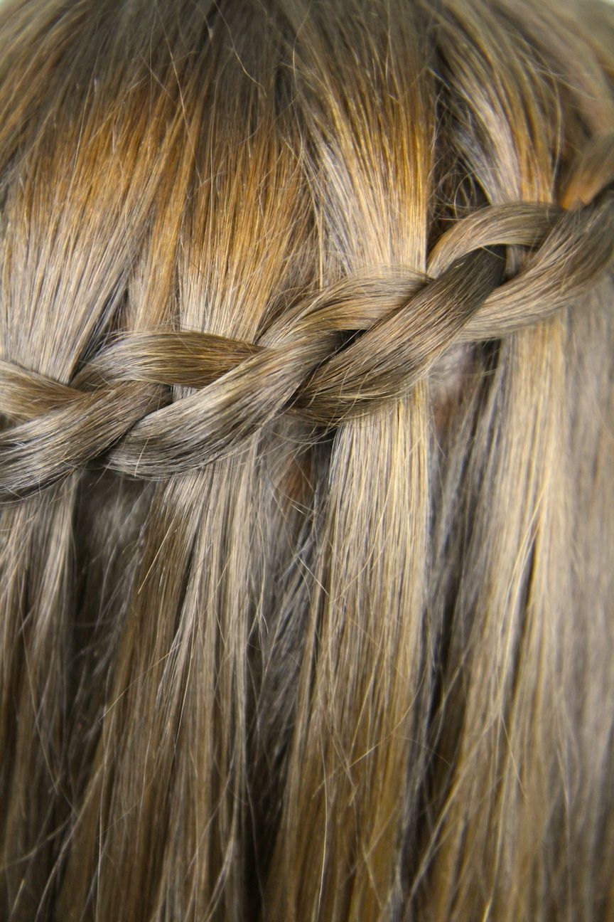 Dutch waterfall braid stranding braid techniques trenzas