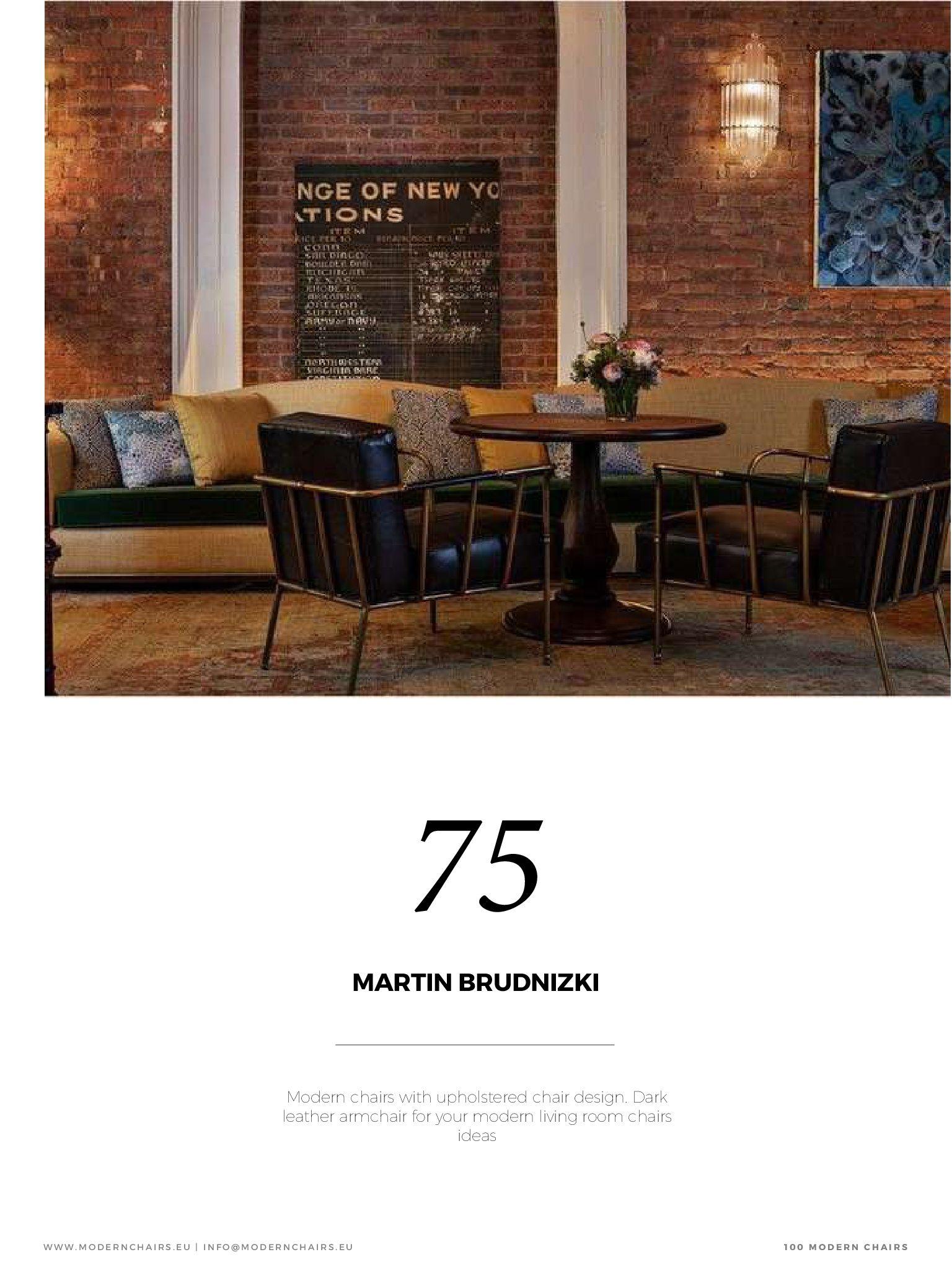 Sedie moderne Blog presenta 100 idee di sedie moderne. Qui troverete sedie imbottite, sedie in pelle e sedie da pranzo in pelle, sedie da soggiorno, poltrone girevoli e sedie da ufficio.