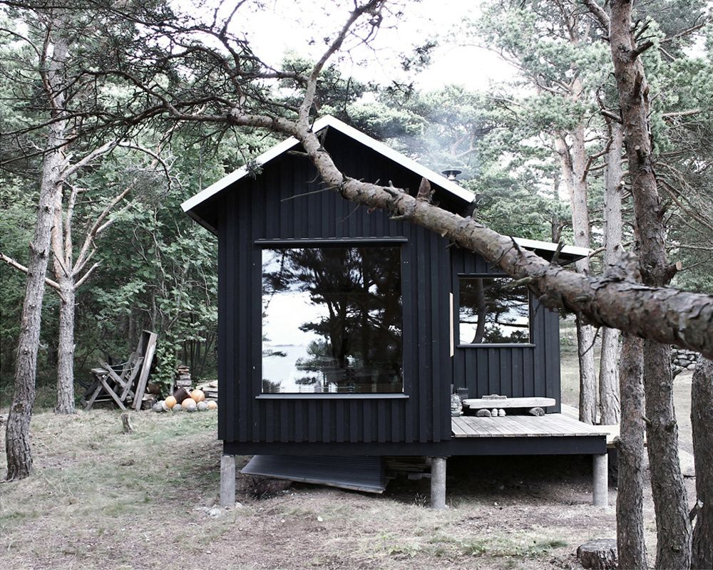 Ermitage Septembre Ambiance Cabane Cabins Pinterest  # Abri De Jardin Ermitage En Pin