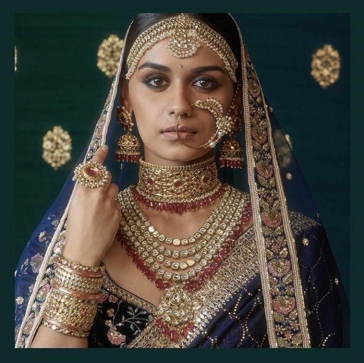 A beautiful sabyasachi bride