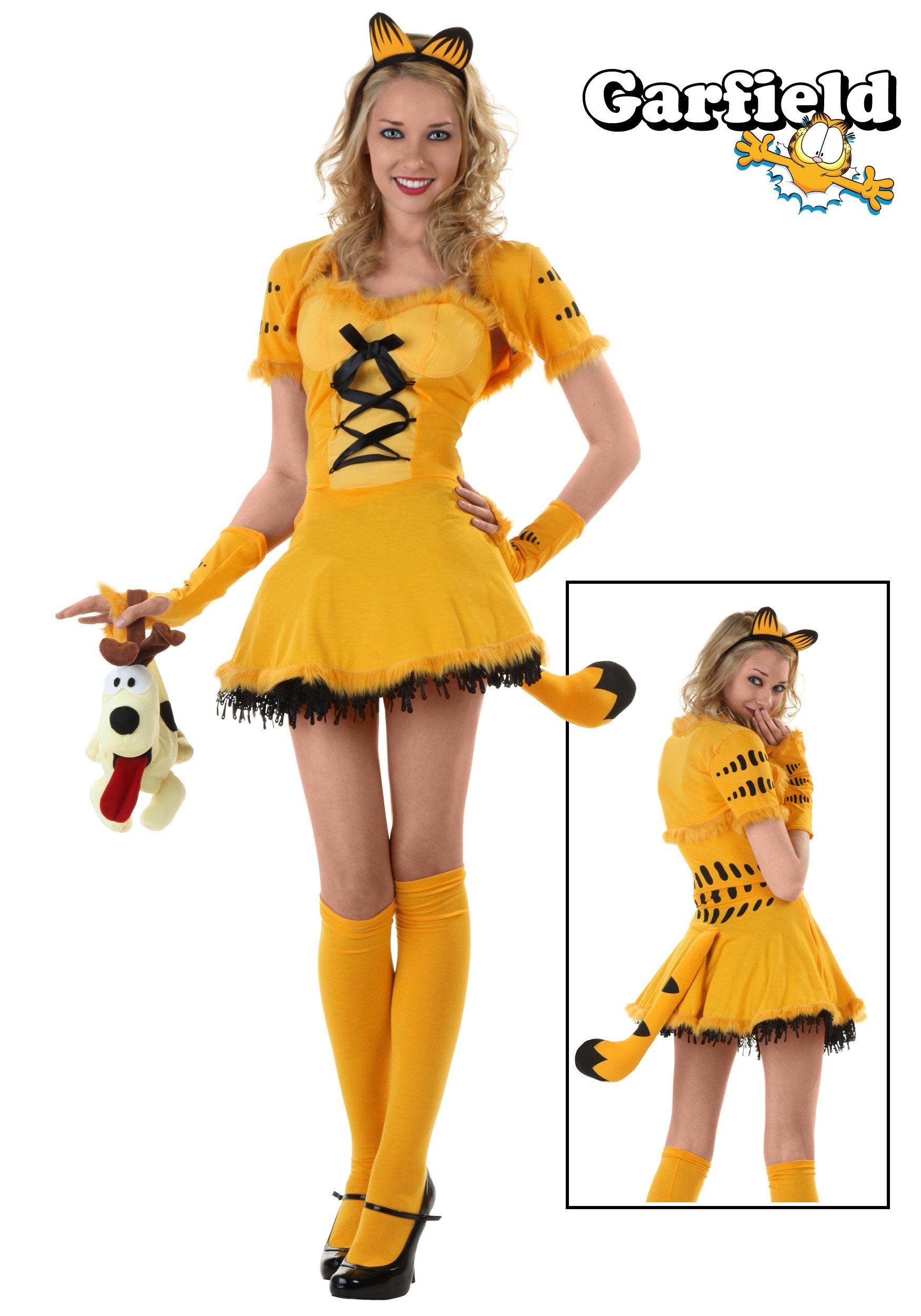 Girly Garfield Costume I Kid You Not  Sexy Costume -2086