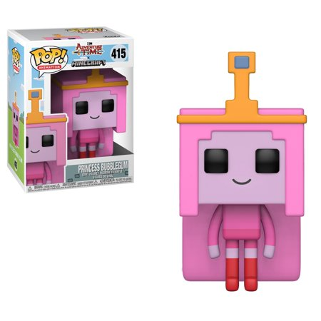 Vinyl Figure #411 TV Adventure Time Minecraft FINN 4in Funko Toys PoP