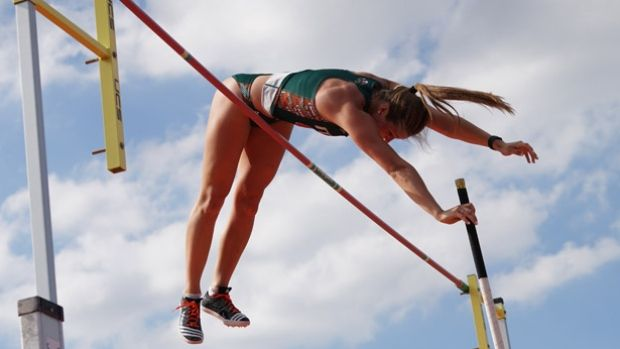 Alysha Newman Breaks Canadian Pole Vault Record Pole Vault Alysha Newman Newman