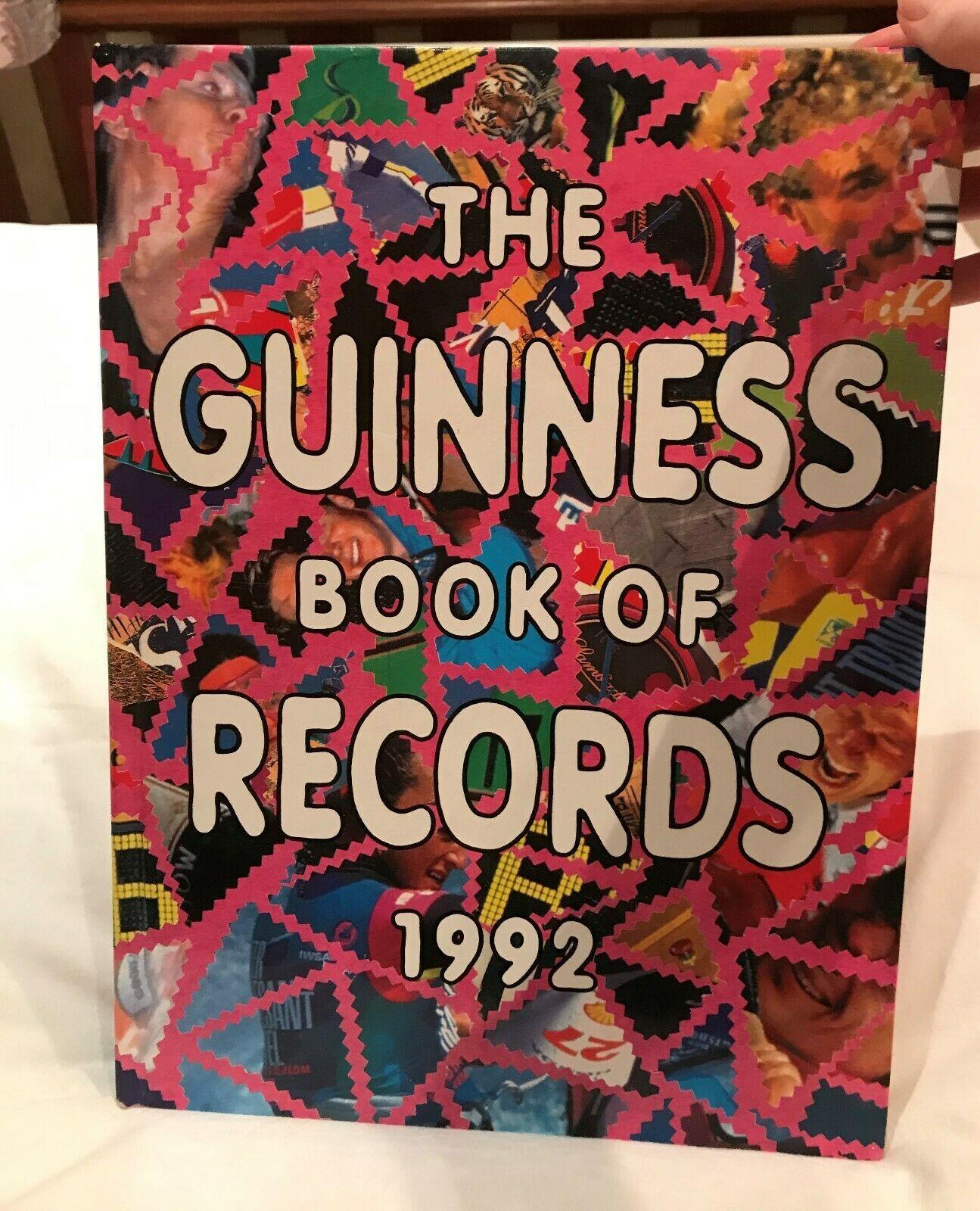 Guinness World Records By Guinness World Records Hardback 1992 2 Pgs Missing Guinness World Records World Records Guinness
