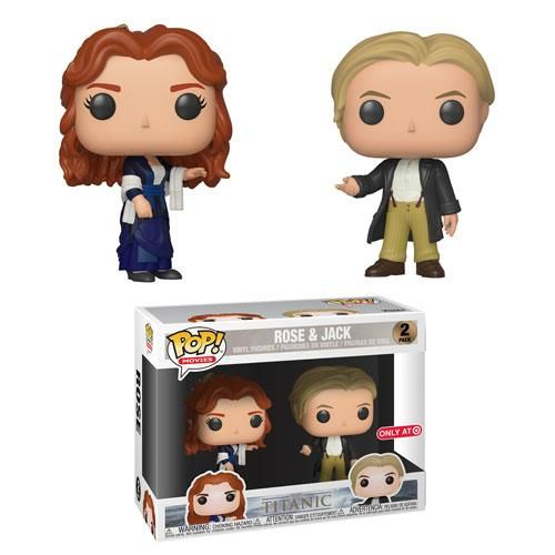 Titanic Funko Pop! Jack & Rose (TwoPack) (Dancing Clothes) (PreOrder) is part of Dance Clothes Pop - Titanic Funko Pop! Jack & Rose (TwoPack) (Dancing Clothes) (PreOrder) Sticker Not Guaranteed Coming Soon!