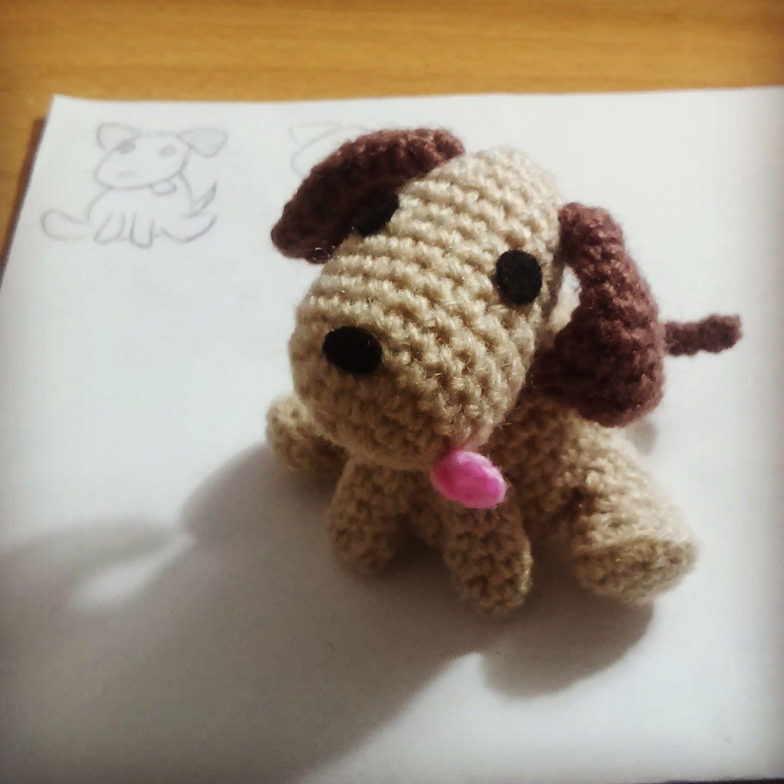 vídeo directo twitch patrón gratis perro amigurumi dog free pattern ...