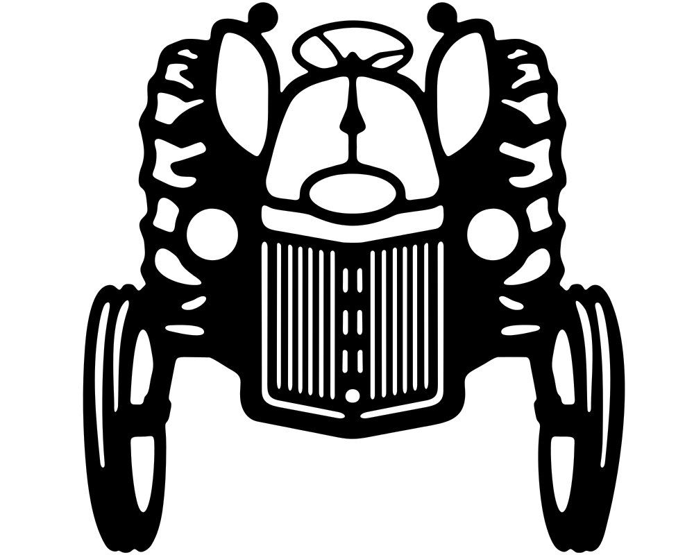 Farm tractor vinyl window decal stickers wholesale decal