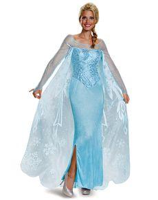 dfe1a0579250d3 Fato de Elsa Frozen prestige para mulher | Nice | Fantasias frozen ...
