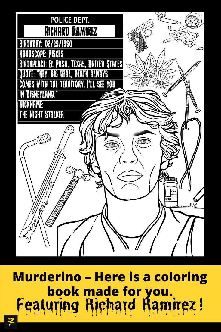 Pin By Sara Strutz On Serial Killers In 2021 Serial Killers Richard Ramirez Quotes True Crime Books