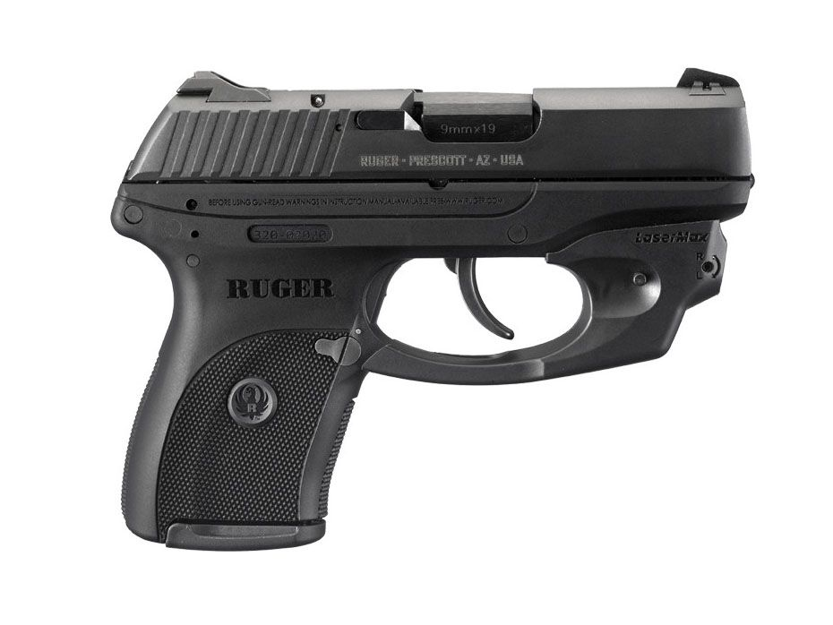 My Handgunjust Need A Pink Grip Ruger 9mm With Blue Laser My