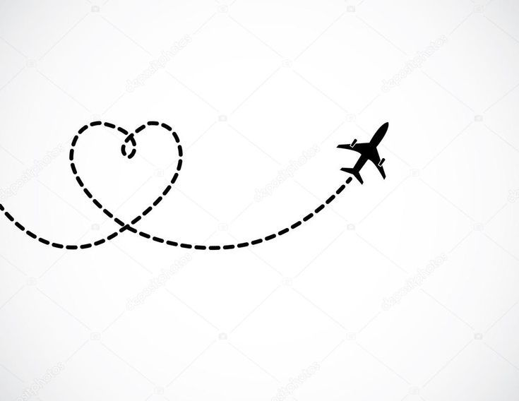 Airplane Tattoo Black Heart Tattoo Planes 12